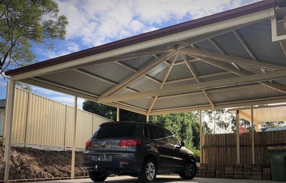 Canberra Carport installation