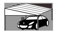 Skillion carport canberra